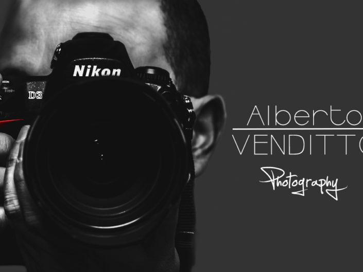 Bigliettino da visita grande Alberto Venditto